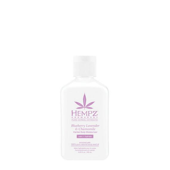 Hempz Aromabody Blueberry Lavender and Chamomile Herbal Moisturizer Travel Size