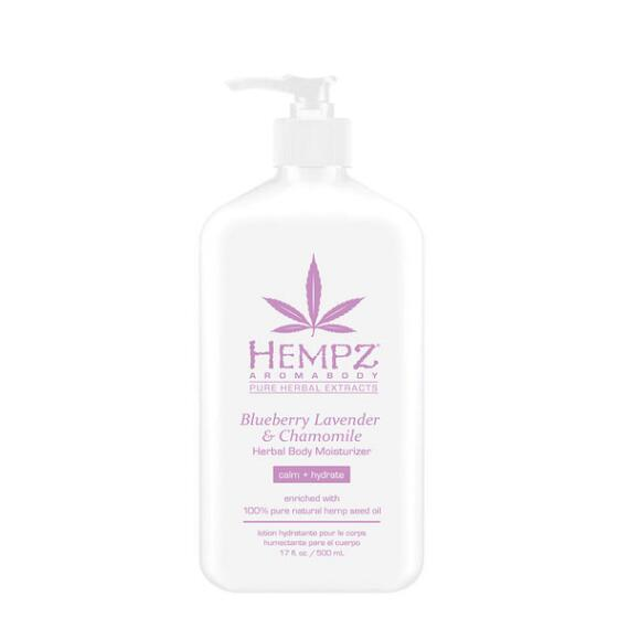 Hempz Aromabody Blueberry Lavender and Chamomile Herbal Moisturizer