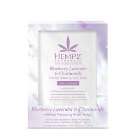 Hempz Aromabody Blueberry Lavender and Chamomile Bath Salts