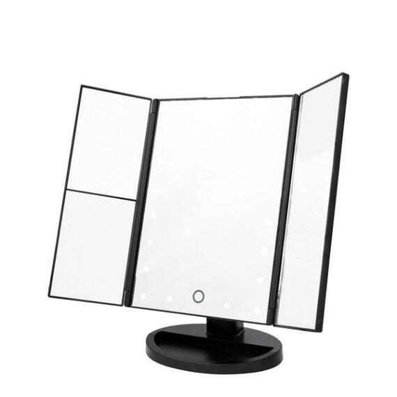 Danielle Trifold LED Mirror