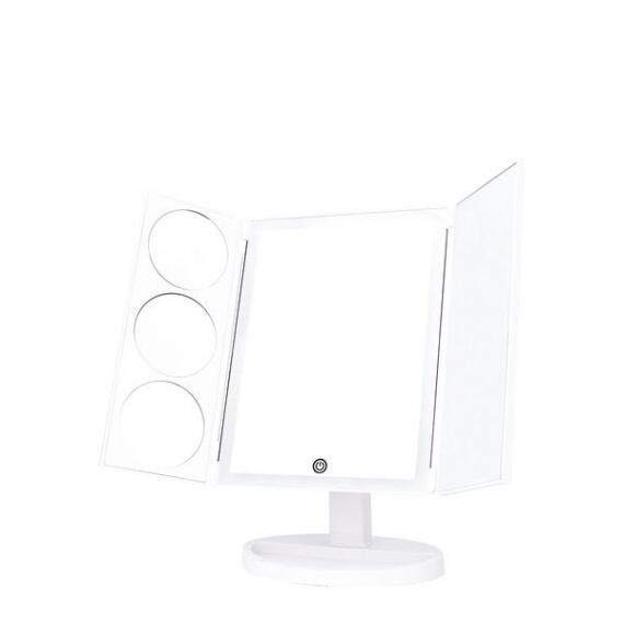Danielle Large Trifold LED Mirror