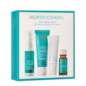 Moroccanoil Hair and Body Minis Set