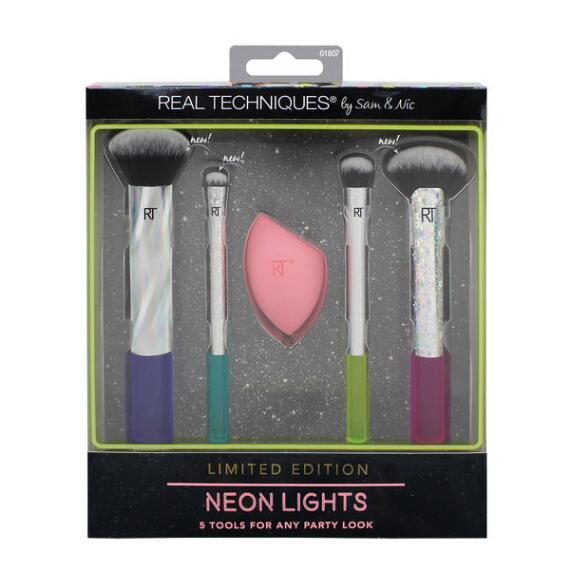 Real Techniques Neon Lights 5 Piece Full Face Complexion Set