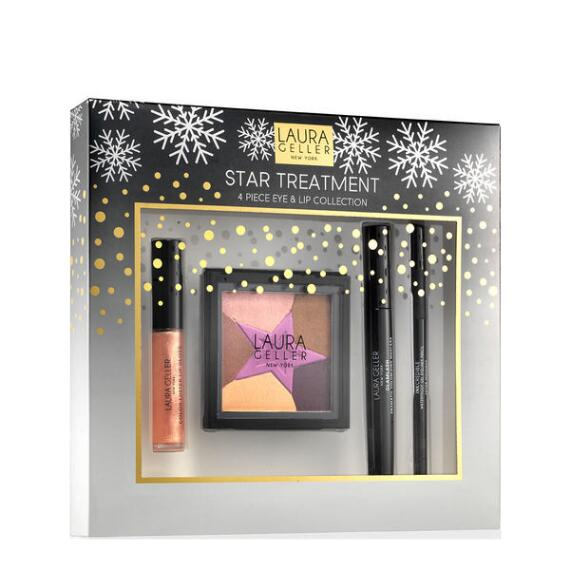 Laura Geller Star Treatment 4 Piece Eye and Lip Kit