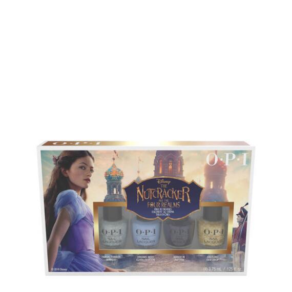 OPI Nail Lacquer Nutcracker Mini 4 Pack