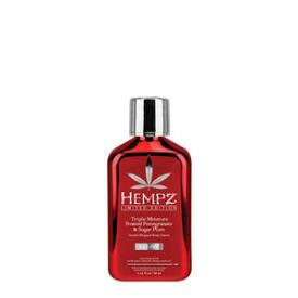 Hempz Triple Moisture Frosted Pomegranate and Sugar Plum Body Creme Travel Size