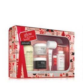 philosophy glow all the way home gift set