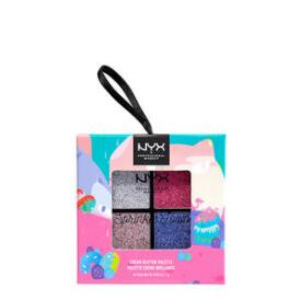 NYX Professional Makeup Sprinkle Town Cream Glitter Pastels Palette