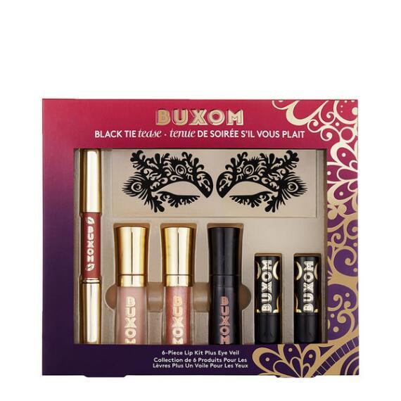 Buxom Black Tie Tease Lip Kit