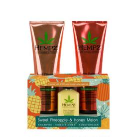 Hempz Sweet Pineapple and Honey Melon Hair Care Gift Set