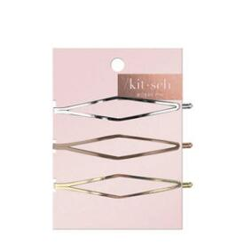 Kitsch Elongated Diamond Bobby Pins