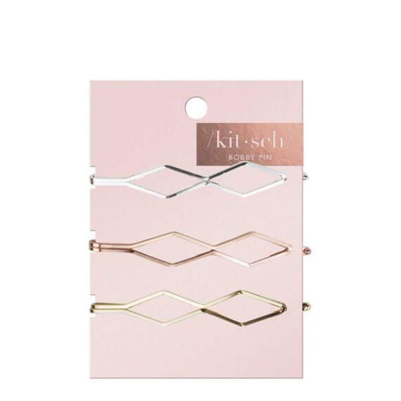 Kitsch Diamond Bobby Pins