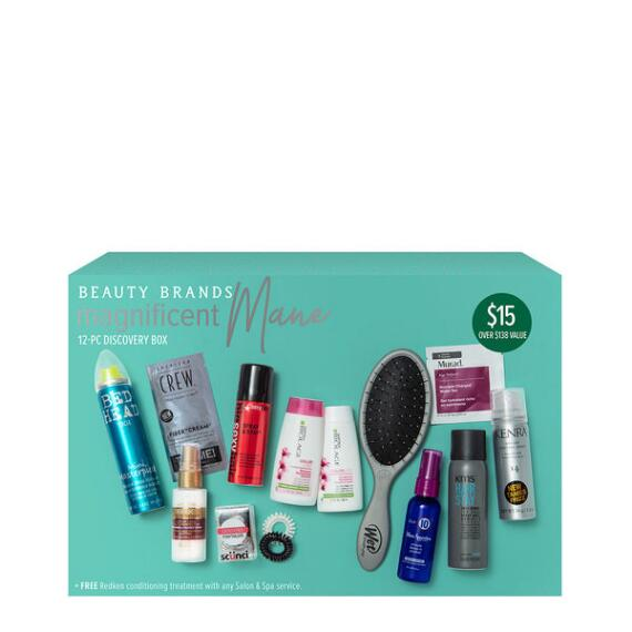 Beauty Brands Magnificent Mane 12 Piece Discovery Box