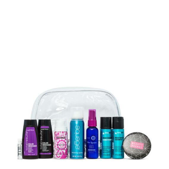 Beauty Brands Terrific Tresses 9 Piece Discovery Bag