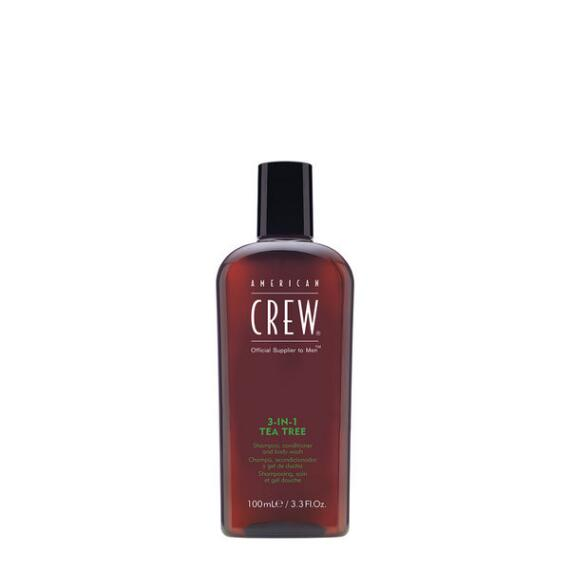 American Crew 3 in 1 Tea Tree Travel Size