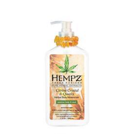 Hempz Citrine Crystal and Quartz Herbal Body Moisturizer
