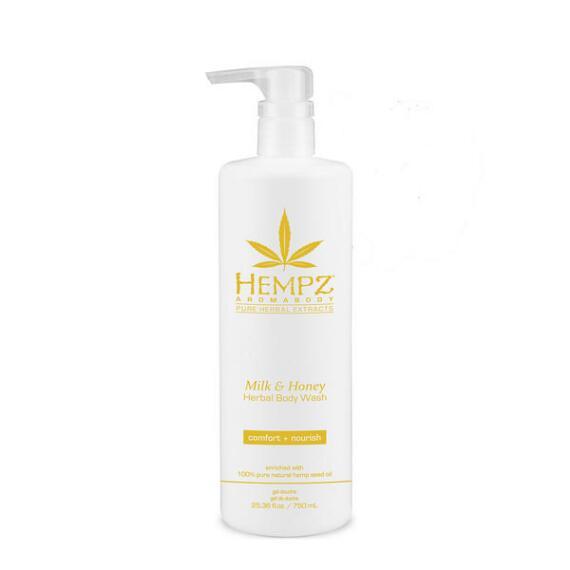 Hempz Milk and Honey Herbal Body Wash Bonus Size