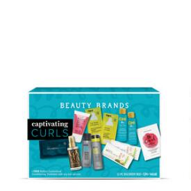 Beauty Brands Captivating Curls 12-Piece Discovery Box
