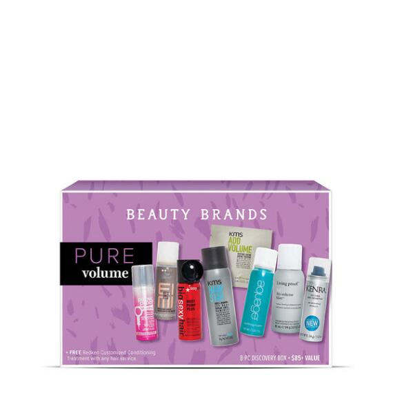Beauty Brands Pure Volume 8-Piece Discovery Box