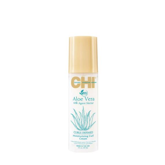 CHI ALOE VERA WITH AGAVE NECTAR MOISTURIZING CURL CREAM