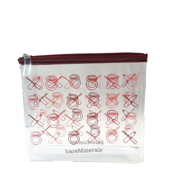 BareMinerals GWP Clear Makeup Bag