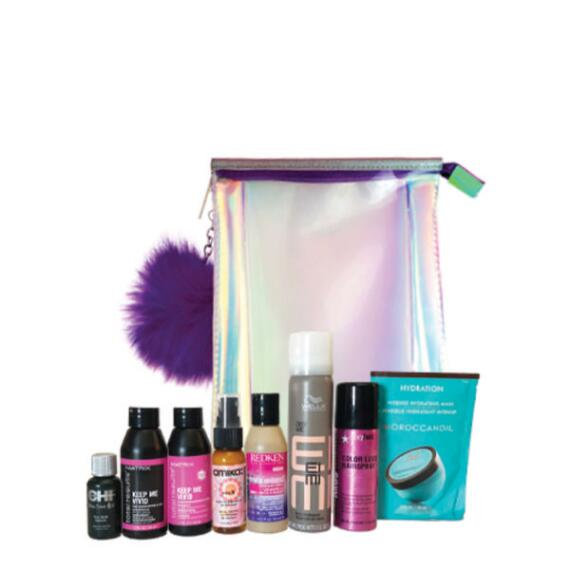 Beauty Brands Vivid Color 8 Piece Discovery Box