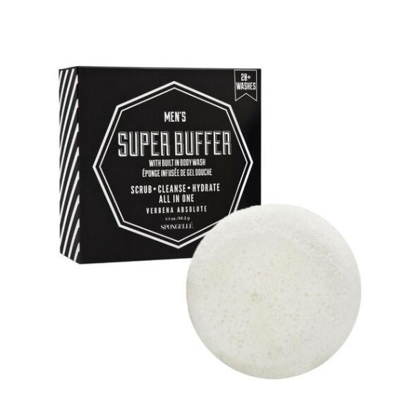 Spongelle Mens Super Buffer - Verbena Absolute