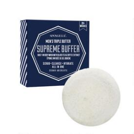 Spongelle Men's Super Buffer - Cedar Absolute