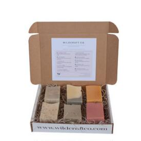 Wild Wash Soap Minibar Vegan Soap Sample Box