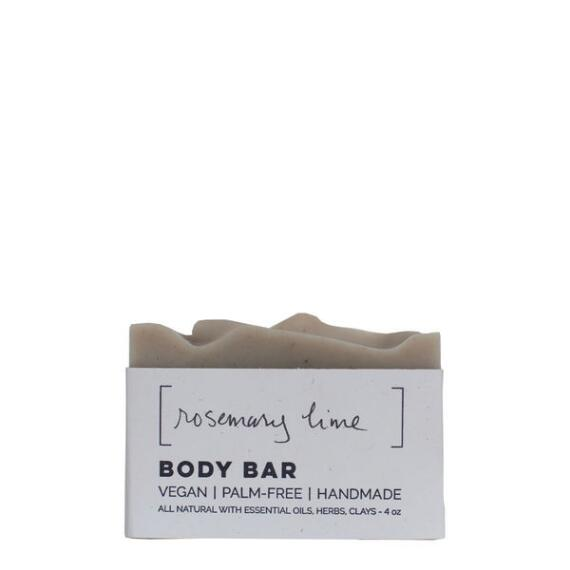 Wild Wash Soap Rosemary Lime with Nettles Vegan Soap Body Bar