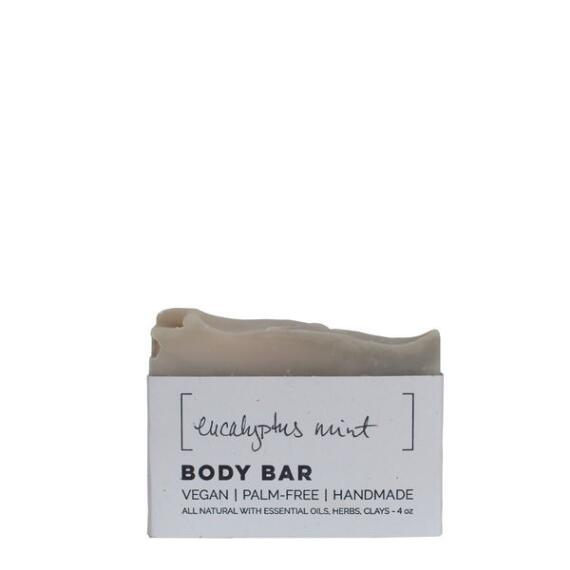 Wild Wash Soap Eucalyptus Mint Vegan Soap Body Bar