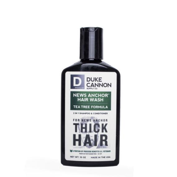 Duke Cannon News Anchor 2-in-1 Hair Wash - Tea Tree