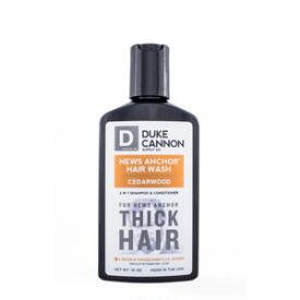 Duke Cannon News Anchor 2-in-1 Hair Wash - Cedarwood
