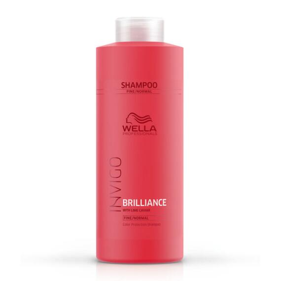 Wella Invigo Brilliance Color Protection Shampoo for Fine to Normal Hair