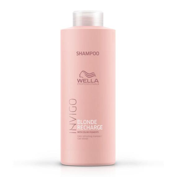 Wella Invigo Blonde Recharge Color Refreshing Shampoo for Cool Blondes