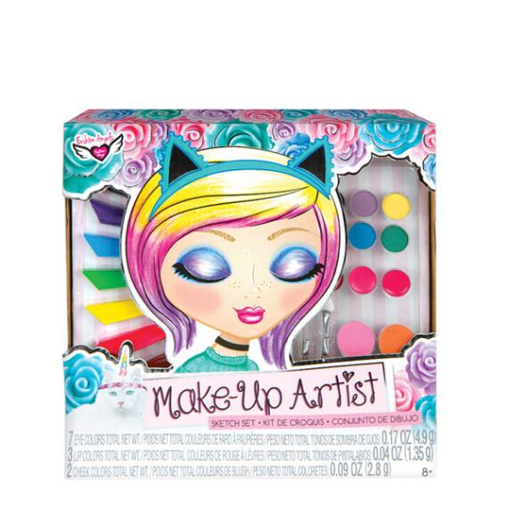 Fashion Angels Unicorn Magic Make-Up Artist Sketch Set