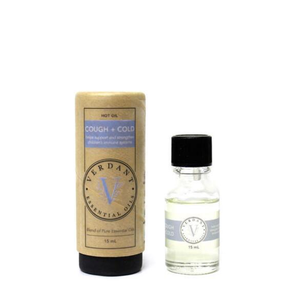 Verdant Oils Cough + Cold Blend - Kid Friendly