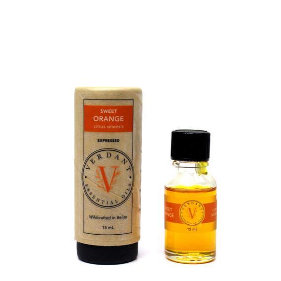Verdant Oils Sweet Orange Essential Oil