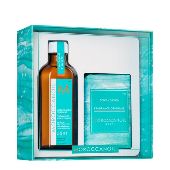 Moroccanoil Cleanse and Style Duo Kit - Light Formula