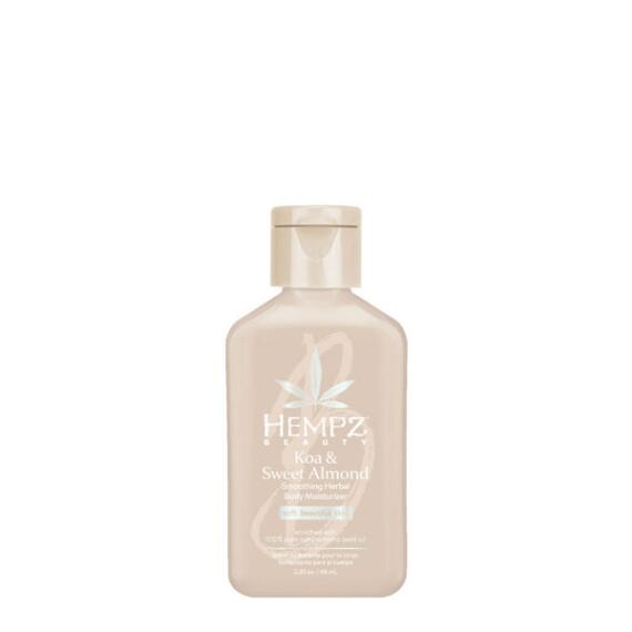 Hempz Koa & Sweet Almond Smoothing Herbal Body Moisturizer Travel Size
