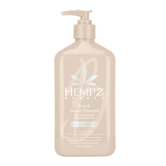 Hempz Koa & Sweet Almond Smoothing Herbal Body Moisturizer