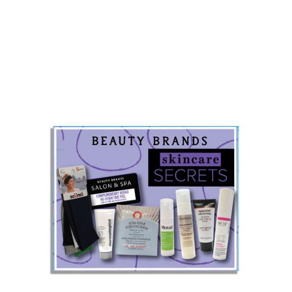 Beauty Brands Skincare Secrets 8-Piece Discovery Box