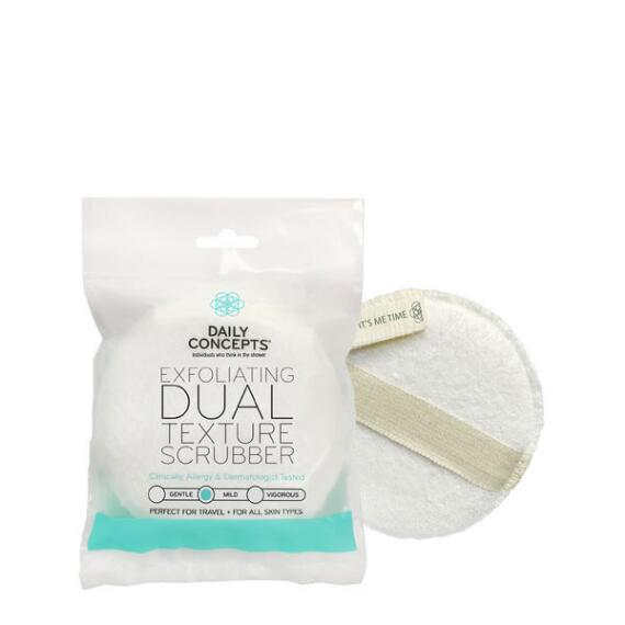 Daily Concepts Exfoliating Dual Texture Scrubber