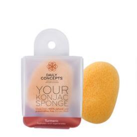 Daily Concepts Your Konjac Sponge - Tumeric