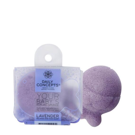 Daily Concepts Your Babys Konjac Sponge- Lavender