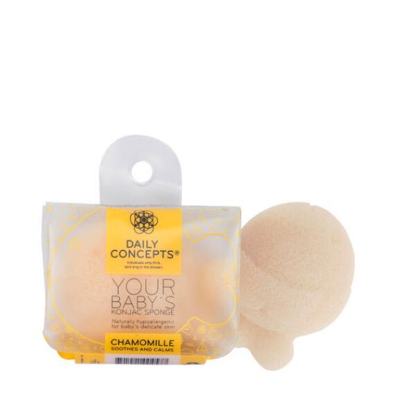 Daily Concepts Your Babys Konjac Sponge- Chamomile