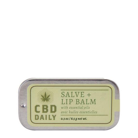 CBD Daily Salve + Lip Balm