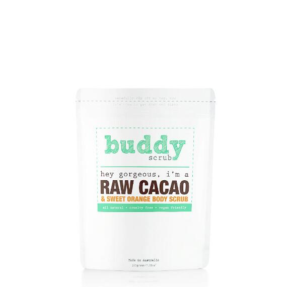 Buddy Scrub 100% Natural Raw Cacao Body Scrub