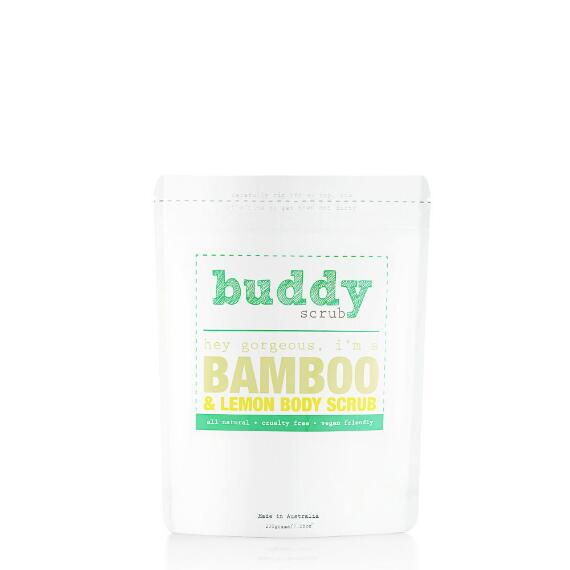 Buddy Scrub 100% Natural Bamboo Body Scrub
