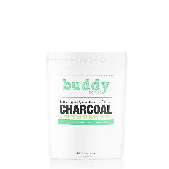 Buddy Scrub 100% Natural Charcoal Body Scrub